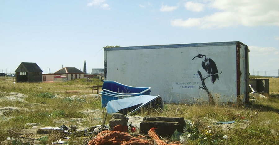 Banksy Dungeness 2